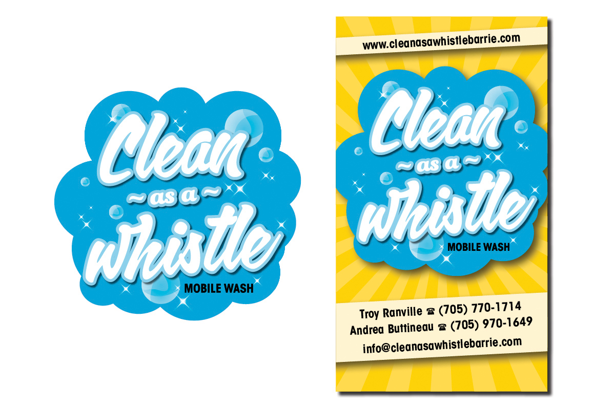 Clean as a Whistle Logo