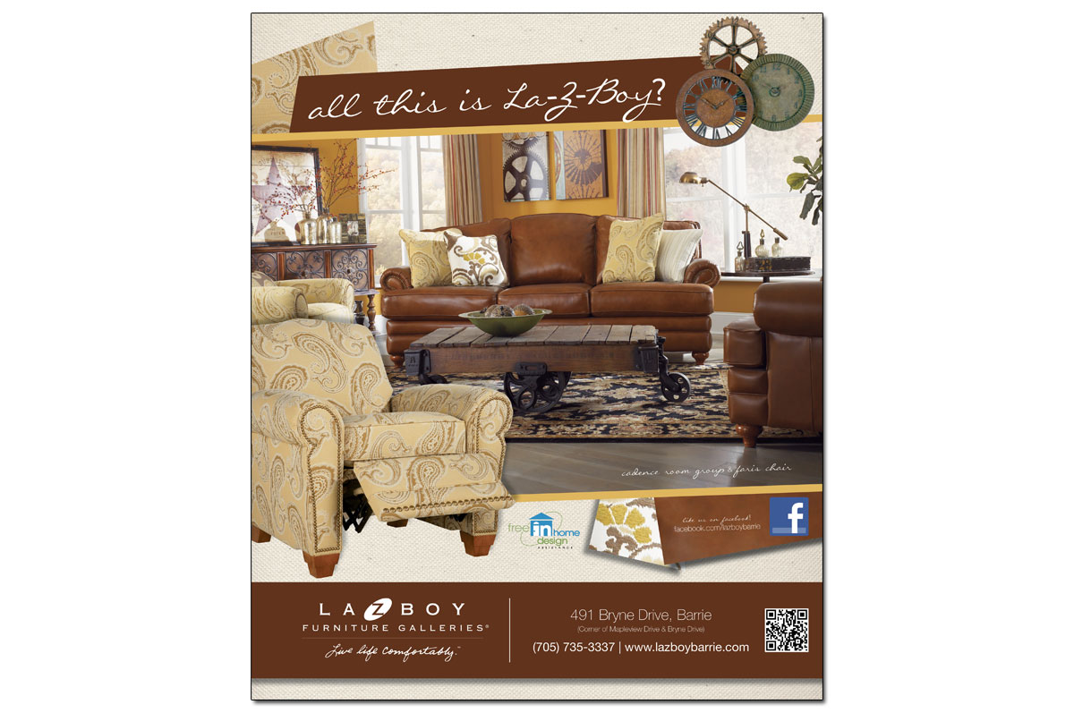 La-Z-Boy Furniture Galleries Ad